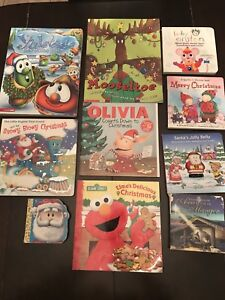 Christmas themed books for young children