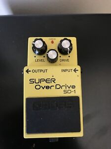 Boss Super Over Drive Pedal
