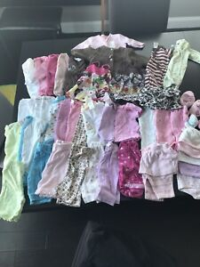 Baby Girl 0-3 Month Spring/Summer Clothes