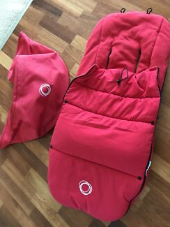 Bugaboo bee canopy and foot muff