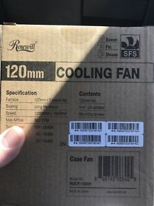 Rosewill fans brand new