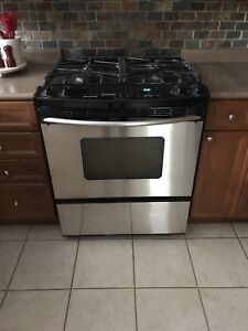 Kitchen Aid Gas Range and Electric Oven