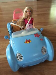 Barbie Car and Doll