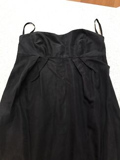 H m black evening dress 00