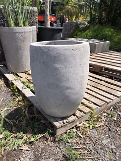 PLANTER BOX POT GRINDED CONCRETE MODERN Berry Shoalhaven Area Preview