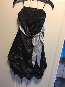 Le Château strapless dress