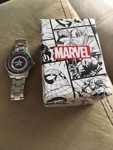 Captain America Marvel Watch
