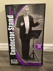 Conductor Stand with Tripod base