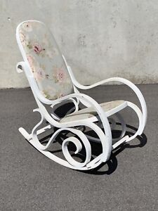 Shabby chic French prob  hamptons style rocking chair Carlisle Victoria Park Area Preview