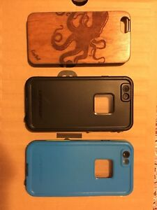 White iPhone 6s 32G with cases!
