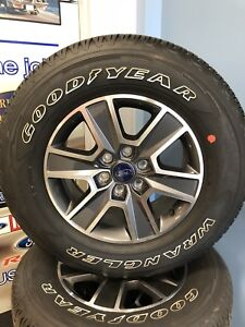 """Ford F-150 18"""" Rims and Tires"""