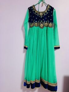 New designer maxi and goan suit in medium size