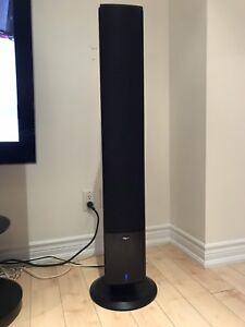 Klipsch icon powered speakers and pioneer elite amp