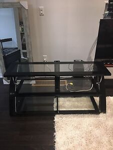 TV stand media stand with build-in TV mount
