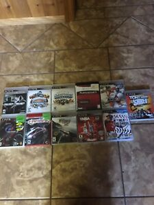 PS3 Games & Controllers