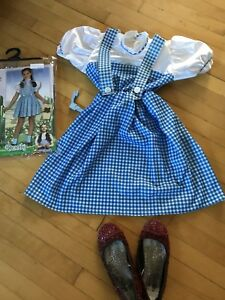 Costume Dorothy wizard of oz 5-7 ans