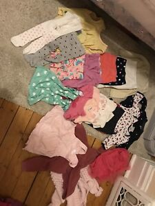 Baby girl 6m and 6-12m clothing