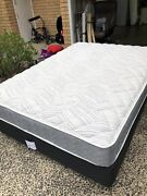 Queen ensemble bed. Base plus mattress  Davidson Warringah Area Preview