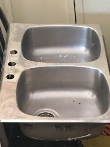 STAINLESS STEEL SINK $40