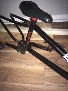Bmx bike frame (will sell for cheep)