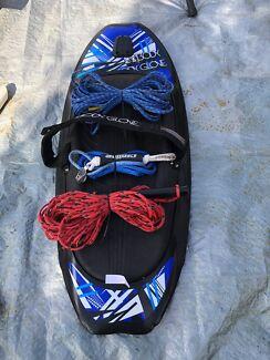 Knee board - body glove brand plus ski vest / life jackets