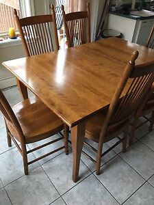 Dining room table / kitchen table