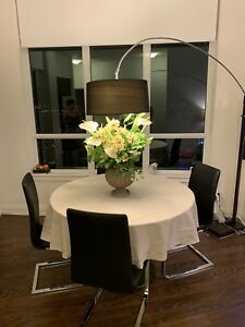 Dining table set with chairs