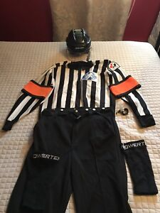 Équipement d'arbitre complet (hockey)