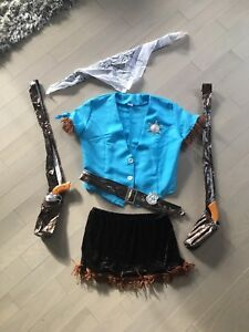 Women's Sheriff Halloween Costume