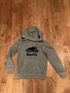 Roots Hoodie-size 10/12-Boys