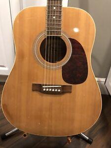 Burswood acoustic guitar