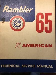 1965 Rambler American Service Manual
