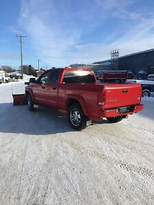 2004 ram truck with plow