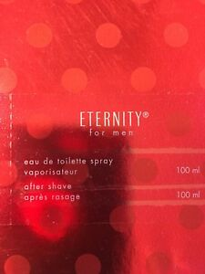 Eternity for men cologne and aftershave gift pack