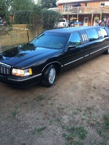 1998 Cadillac Deville Limousine