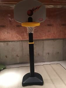 Kids basketball net and base