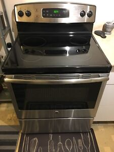 Brand New GE Stainless Steel induction range oven