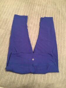 Lulu lemons Capri tights (size 4)