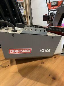 Craftsman 1/2hp Garage Door Openers