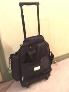 Two rolling backpacks