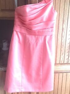 Coral pink dress size small/4