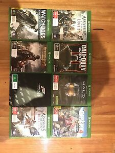 Assorted xbox 1 games + extra items Newcastle Newcastle Area Preview