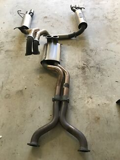 """5. 0l coyote 3"""" manta stainless catback exhaust"""