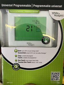 Brand new white Rodgers programmable thermostat
