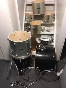 Drum Shells, Heads, etc Basement Clear Out
