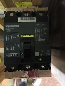Square D Circuit breakers (bolt on)