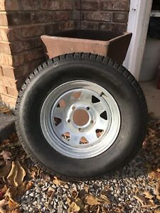 ST 175/80R13 Galvanized Trailer Wheel