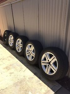 Ford Territory Ghia Set of Wheels Ferryden Park Port Adelaide Area Preview