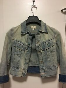 Wilfred Aritzia cropped denim jacket - XXS