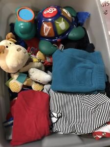 Boys size 2 lot includes some toys